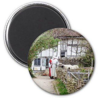 OLD ENGLAND 2 INCH ROUND MAGNET
