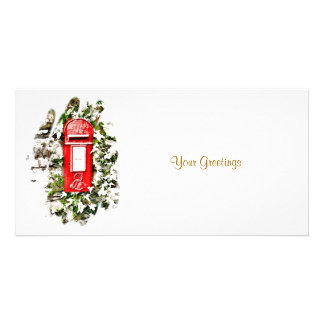 OLD ENGLAND - MAIL BOX UK PHOTO CARD TEMPLATE