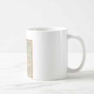 Old England Map Coffee Mug