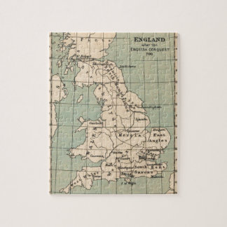 Old England Map Jigsaw Puzzle
