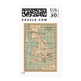 Old England Map Postage