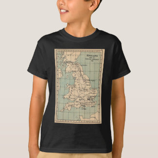 Old England Map T-Shirt