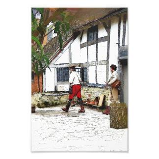 OLD ENGLAND PHOTO PRINT