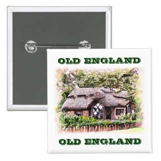 OLD ENGLAND PINBACK BUTTON