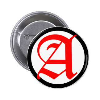 Old English Anarchy A Button