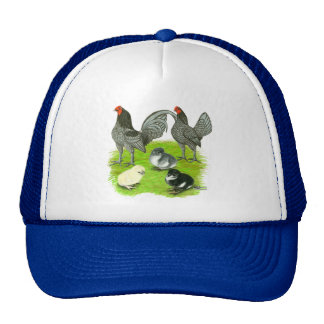Old English Blue Game Family Trucker Hat