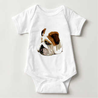 Old English Bulldog Baby Bodysuit