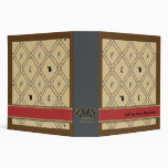 Old English Equestrian Album for Horse Lovers Binder