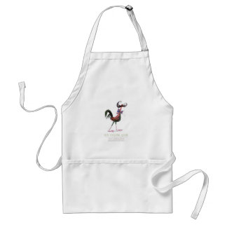 OLD ENGLISH GAME HEN, tony fernandes Adult Apron