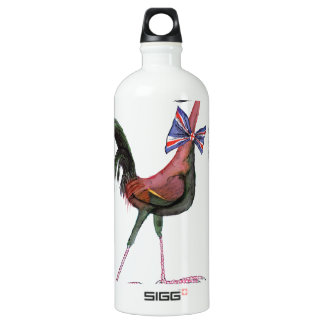 OLD ENGLISH GAME HEN, tony fernandes Aluminum Water Bottle