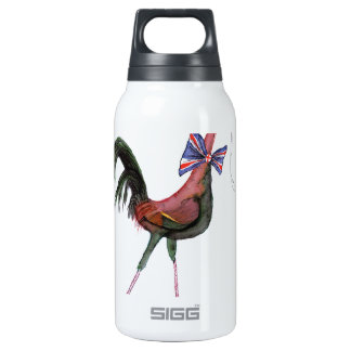 OLD ENGLISH GAME HEN, tony fernandes Insulated Water Bottle