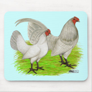 Old English Game Self Blue Mouse Pad