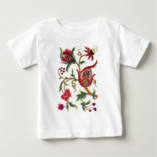 Old English Jacobean Embroidery Baby T-Shirt