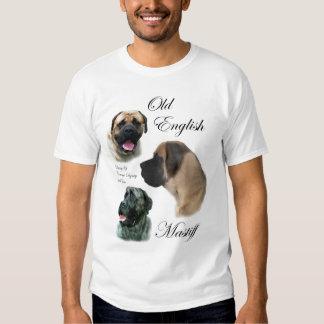 Old English Mastiff Gifts Apparel T-shirts