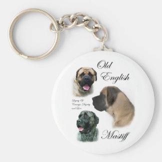 Old English Mastiff Gifts Keychain