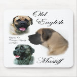 Old English Mastiff Gifts Mouse Pad