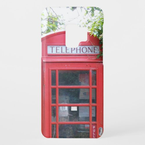 Old English Red Telephone Box Phone Case