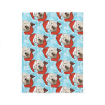 Old English Sheep Dog Fleece Blanket
