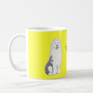 Old English Sheep Dog Mugs add name