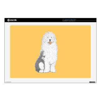 "Old English Sheep Dog multiple products 17"" Laptop Decals"