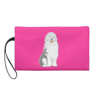 Old English Sheep Dog small bags Wristlet