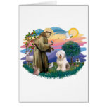Old English Sheepdog (#6) Greeting Card