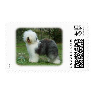 Old English Sheepdog 9F054D-17 Postage