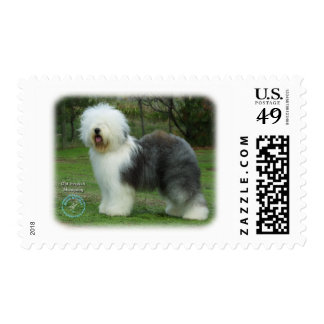 Old English Sheepdog 9F054D-17 Postage Stamps
