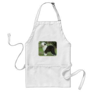 Old English Sheepdog 9F055D-17 Adult Apron