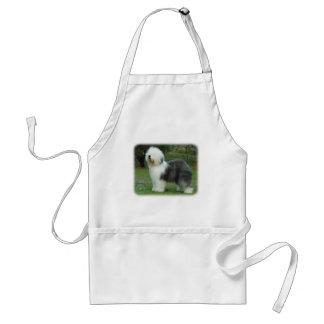 Old English Sheepdog Adult Apron