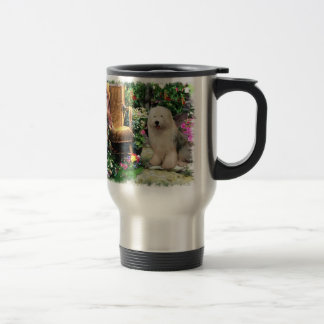 Old English Sheepdog Art Gifts Mugs
