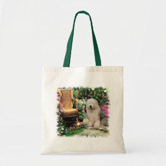 Old English Sheepdog Art Gifts Tote Bag