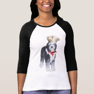 Old English Sheepdog Chef of Love T-Shirt