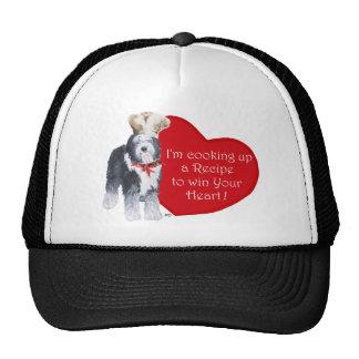 Old English Sheepdog Chef of Love Trucker Hat