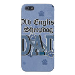 Old English Sheepdog DAD iPhone 5 Covers