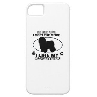 Old English Sheepdog designs and gifts iPhone SE/5/5s Case
