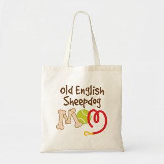 Old English Sheepdog Dog Breed Mom Gift Budget Tote Bag
