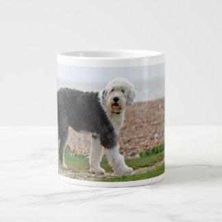 Old English Sheepdog dog jumbo mug, gift Large Coffee Mug
