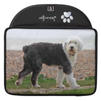 Old English Sheepdog dog macbook air sleeve Sleeves For MacBooks