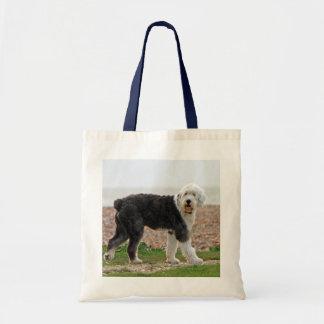 Old English Sheepdog dog tote bag photo