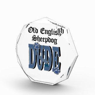 Old English Sheepdog DUDE Award