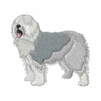 Old English Sheepdog Embroidered Hoody
