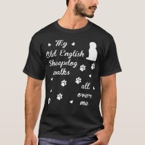 Old English Sheepdog gift t-shirt for dog lovers