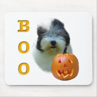 Old English Sheepdog Halloween Boo Mouse Pad