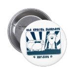 Old English Sheepdog Herding Buttons
