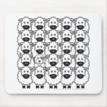 Old English Sheepdog in the Sheep Mouse Pad