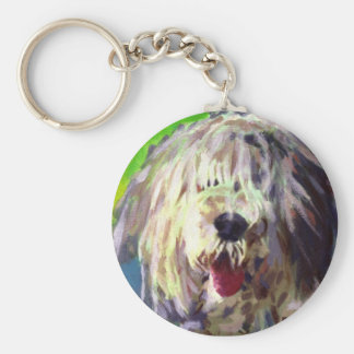 Old English Sheepdog Keychains