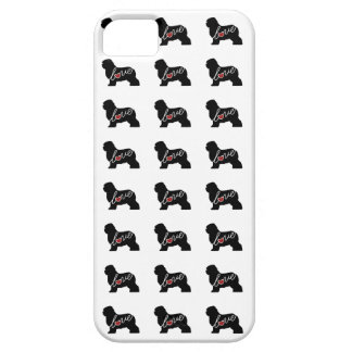 Old English Sheepdog Love iPhone SE/5/5s Case