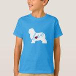 Old English Sheepdog Love T-Shirt