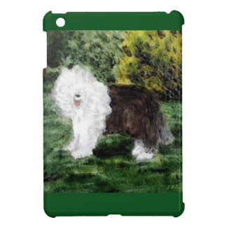 Old English Sheepdog Painting Case For The iPad Mini